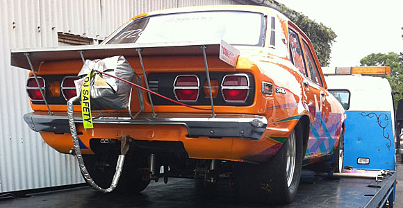 Drag Racing Car Towing Sydney