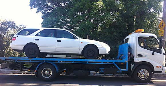 Scrap Car Towing Sydney